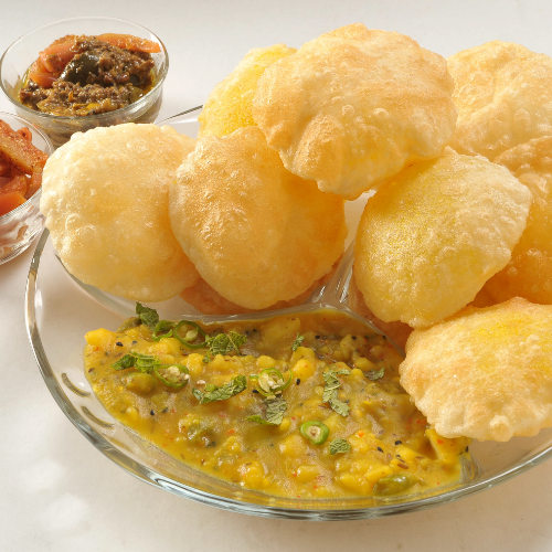 Indian Poori Ingredients And Recipe And History